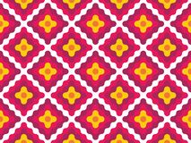 Vector modern seamless colorful geometry pattern diamonds Royalty Free Stock Photos