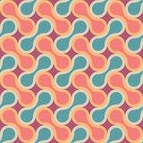 Vector modern seamless colorful geometry pattern, drops Stock Photography