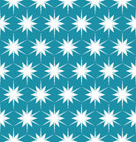 Vector modern seamless colorful geometry pattern floral blue, color abstract Royalty Free Stock Images