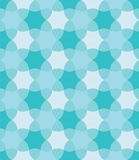 Vector modern seamless colorful geometry pattern, flowers, color blue abstract Royalty Free Stock Images