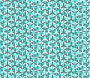 Vector modern seamless colorful geometry pattern Royalty Free Stock Photo