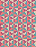 Vector modern seamless colorful geometry pattern, mosaic, color pink purple blue,  abstract Stock Photos