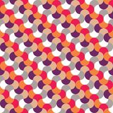Vector modern seamless colorful geometry pattern Stock Photography