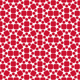 Vector modern seamless colorful geometry pattern red, color abstract Stock Photography