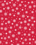 Vector modern seamless colorful geometry pattern snowflakes, color abstract Royalty Free Stock Photography