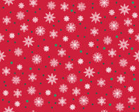 Vector modern seamless colorful geometry pattern snowflakes, color abstract Stock Image