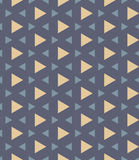 Vector modern seamless colorful geometry pattern triangle polygon Royalty Free Stock Image
