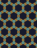 Vector modern seamless colorful geometry pattern triangle polygon Royalty Free Stock Photos