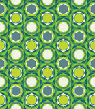 Vector modern seamless colorful geometry pattern triangle polygon, color green abstract Royalty Free Stock Photography