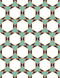 Vector modern seamless colorful geometry pattern triangle polygon Stock Photos