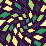 Vector modern seamless colorful geometry pattern trippy, color abstract Stock Photography