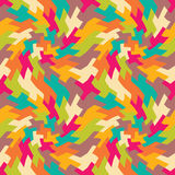 Vector modern seamless colorful geometry pattern trippy, color abstract Stock Image