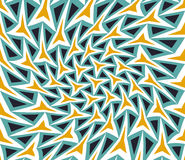 Vector modern seamless colorful geometry pattern twirl, color abstract Royalty Free Stock Photography