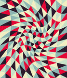 Vector modern seamless colorful geometry pattern twirl, color abstract Royalty Free Stock Photo