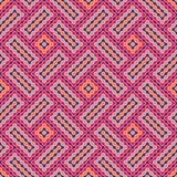 Vector modern seamless colorful geometry pattern wavy Royalty Free Stock Photos