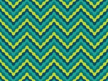 Vector modern seamless colorful geometry pattern zigzag line Stock Image