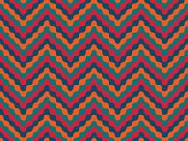 Vector modern seamless colorful geometry pattern zigzag line Stock Images