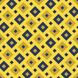 Vector modern seamless colorful geometry square pattern, color abstract Stock Photography