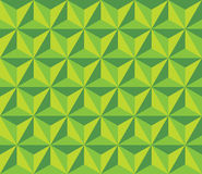 Vector modern seamless colorful geometry triangol hexagon pattern, color green abstract Royalty Free Stock Photo