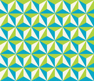 Vector modern seamless colorful geometry triangol hexagon pattern Stock Images