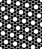Vector modern seamless geometry pattern atoms Stock Images