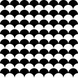 Vector modern seamless geometry pattern balls Royalty Free Stock Photo