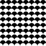 Vector modern seamless geometry pattern balls Royalty Free Stock Photo