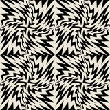 Vector modern seamless geometry pattern, black and white abstract Stock Photos
