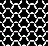 Vector modern seamless geometry pattern , black and white abstract Stock Images
