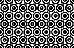 Vector modern seamless geometry pattern, black and white abstract. Geometric background, trendy print, monochrome retro texture, hipster fashion design Royalty Free Stock Photography