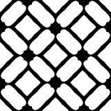 Black and white seamless geometrical pattern stock photography