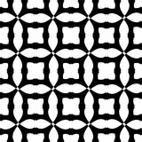 Black and white seamless geometrical pattern vector illustration