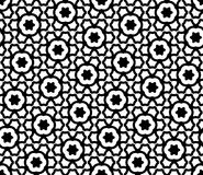 Vector modern seamless geometry pattern cells Stock Image