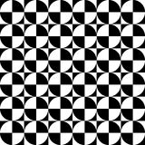 Vector modern seamless geometry pattern checkered, black and white abstract Stock Images