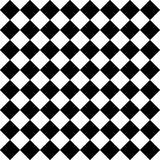 Vector modern seamless geometry pattern checkered, black and white abstract Stock Photo