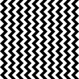 Vector modern seamless geometry pattern chevron, black and white abstract Stock Images