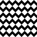 Vector modern seamless geometry pattern chevron, black and white abstract Royalty Free Stock Images