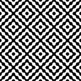 Vector modern seamless geometry pattern diamonds. Black and white abstract geometric background, wallpaper print, monochrome retro texture, hipster fashion Royalty Free Stock Images