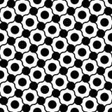 Vector modern seamless geometry pattern dots , black and white abstract Stock Images
