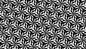 Vector modern seamless geometry pattern flowers Stock Photos