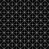 Vector modern seamless geometry pattern grid, black and white abstract Royalty Free Stock Images