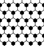 Vector modern seamless geometry pattern hex, black and white abstract Stock Photography