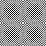 Vector modern seamless geometry pattern labyrinth Stock Photo