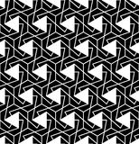 Vector modern seamless geometry pattern messy, black and white abstract Royalty Free Stock Image