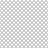 Vector modern seamless geometry pattern scales Royalty Free Stock Photos