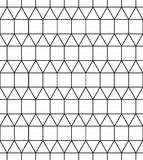 Vector modern seamless geometry pattern squares, black and white abstract Stock Photography