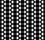 Vector modern seamless geometry pattern squares, black and white abstract Stock Photos