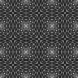 Vector modern seamless geometry pattern squares 3d , black and white abstract. Geometric background, pillow print, monochrome retro texture, hipster fashion Stock Photography