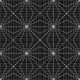 Vector modern seamless geometry pattern squares 3d , black and white abstract Stock Photos