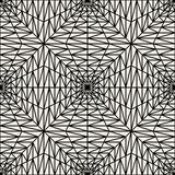 Vector modern seamless geometry pattern squares 3d , black and white abstract Stock Image